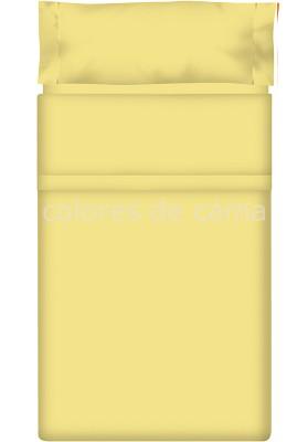 Completo Lenzuolo - Tinta Unita Paglia