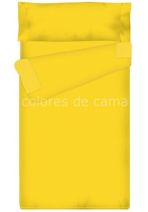 """Completo """"Pronto per Dormire"""", Estensibile , Tinta Unita giallo"""
