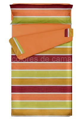 """Completo """"Pronto per Dormire"""", Estensibile , ALBA arancio"""