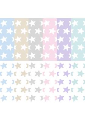 """Lenzuolo sotto di ricambio con cerniera per Completo """"Pronto per dormire"""" Cotone - Estrellas"""