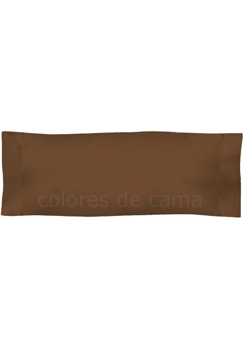 Federa da guanciale - Tinta Unita Cioccolato