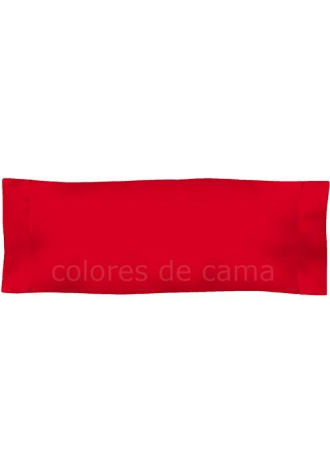 Federa da guanciale - Tinta Unita Rosso