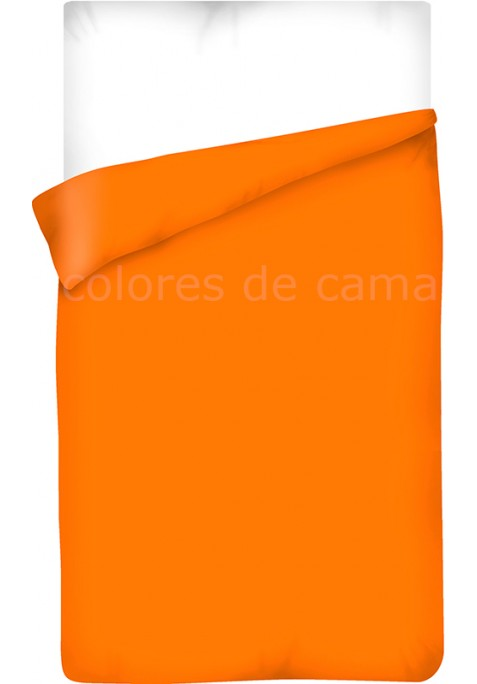 Sacco Copripiumino - Tinta Unita Arancio
