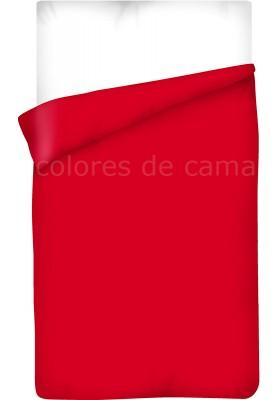 Sacco Copripiumino - Tinta Unita Rosso