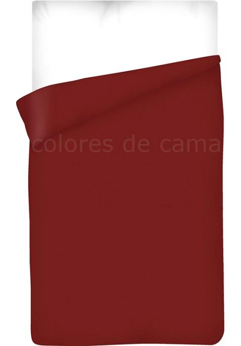 Sacco Copripiumino - Tinta Unita Granata