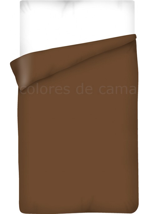 Sacco Copripiumino - Tinta Unita Cioccolato