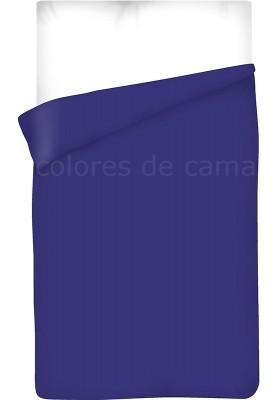 Sacco Copripiumino - Tinta Unita Blu Scuro