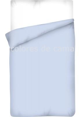 Sacco Copripiumino - Tinta Unita Blu Chiaro
