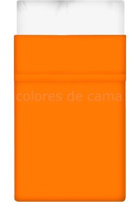 Lenzuolo di sopra - Tinta Unita Arancio