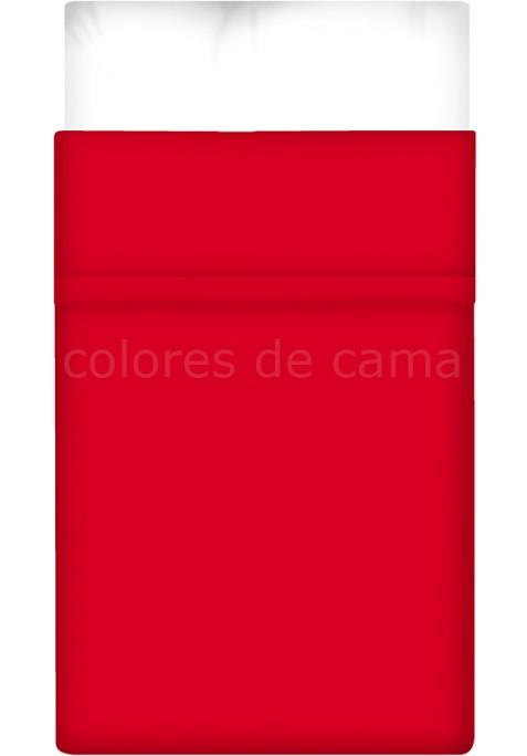 Lenzuolo di sopra - Tinta Unita Rosso