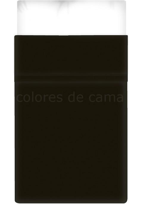 Lenzuolo di sopra - Tinta Unita Nero