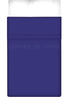 Lenzuolo di sopra - Tinta Unita Blu Scuro