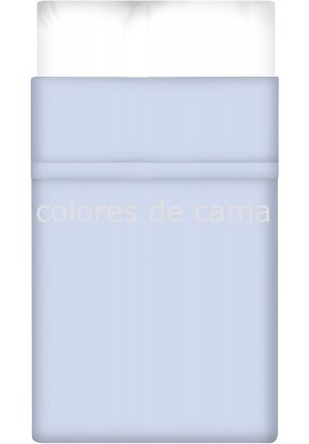 Lenzuolo di sopra - Tinta Unita Blu Chiaro