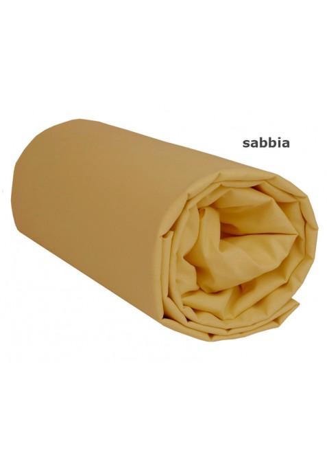 Lenzuolo sotto con Angoli - Tinta Unita Sabbia