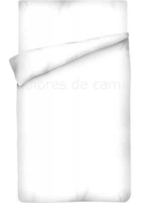Sacco Copripiumino - Tinta Unita Bianco 100 Cotone