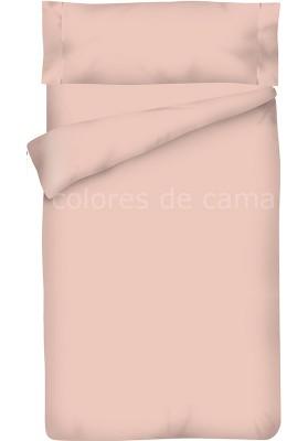 Completo Copripiumino - Tinta Unita Rosa