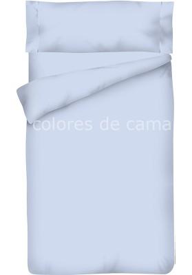 Completo Copripiumino - Tinta Unita Blu Chiaro