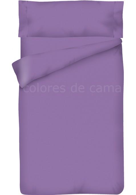 Completo Copripiumino - Tinta Unita Lilla