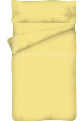 Completo Copripiumino - Tinta Unita Paglia