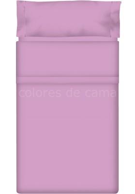 Completo Lenzuolo - Tinta Unita Malva