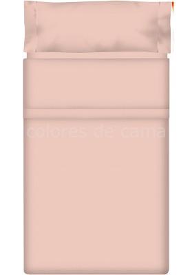 Completo Lenzuolo - Tinta Unita Rosa