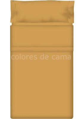 Completo Lenzuolo - Tinta Unita Sabbia