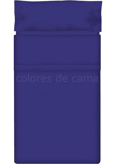 Completo Lenzuolo - Tinta Unita Blu Scuro