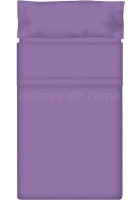 Completo Lenzuolo - Tinta Unita Lilla